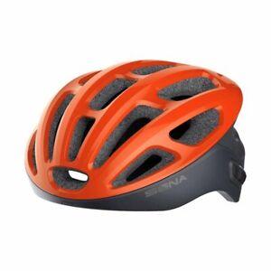 SENA R1 Smart Communications Helmet - Electric Tangerine - Medium
