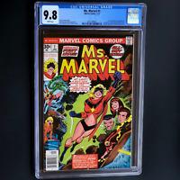 MS. MARVEL #1 (1977) 💥 CGC 9.8 WHITE PGs 💥 1ST CAROL DANVERS AS MS MARVEL! KEY