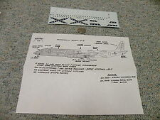 Runway 30 decals 1/144 Dc-8 Ona Usa Centennial 1976-1976 Qq10