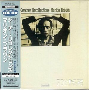 MARION BROWN GEECHEE RECOLLECTIONS JAPAN MINI LP CD MVCZ 120 OBI LEO SMITH