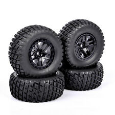 4 pcs RC 1/10 Short Course Truck Tire Wheel Hub 12mm For TRAXXAS SLASH HPI HSP