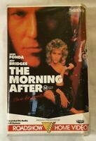 The Morning After VHS 1986 Thriller Sidney Lumet Jane Fonda Roadshow Large Soft