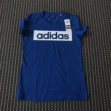 BNT ADIDAS Women's BlUE Sports Tshirt Size S RRP$50