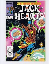 Jack of Hearts #1 Marvel comic 1984 - VF/NM