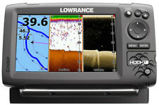 Lowrance Hook 7 w/HDI transducer and c-map insight pro lake map chip. sonar/GPS