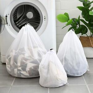 Drawstring Laundry Bag Washing Machine Bags Mesh Net for Bra Socks Underwear