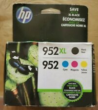 GENUINE HP 952XL Black & 952 Color Ink Cartridges - Free Shipping