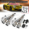 """2x 2.25"""" Electric Exhaust Valve Catback Downpipe Y-Pipe Cut System W/ Remote ##"""