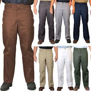 Ben Davis Work Pants Men Original Fit Cotton Blend Heavy Weight Twill Pant
