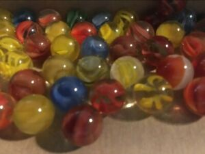Lot of 60 plus Marbles