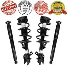 Front Complete Struts Assembly + Rear Shocks For 2008-2012 Nissan Rogue 4Pc