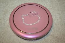 PINK HELLO KITTY PERSONAL CD PLAYER PORTABLE MUSIC COMPACT DISC CAT JEWEL DESIGN