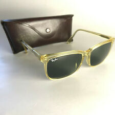 Vintage Ray Ban USA B&L TRADITIONALS Sunglasses clear square wayfarer clubmaster