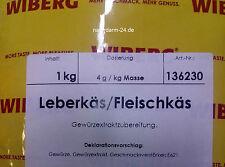 Wiberg Leberkäs Fleischkäs 1 Kg, Gewürz, Gewürze
