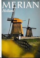 Holland Niederlande Merian Heft 09 1975 Reiseführer Bildband Geschichte