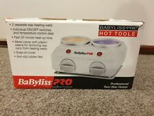 BABYLISS PRO Professional Twin Wax Heater - used once, in as new condition.