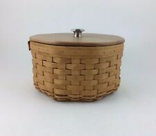 Longaberger 2005 Dealers Choice Basket w Protector Lid