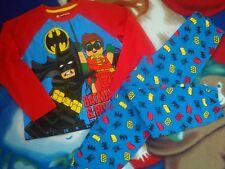 Ex Store Boys Lego Batman Movie All in one Pyjamas 4-12 years
