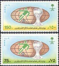 Saudi Arabia 1989 World Youth Football Cup/Sports/Games/Soccer 2v set (n31457)