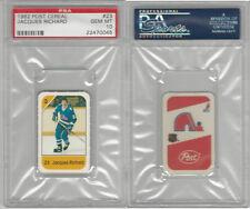 1982 Post Cereal Hockey, #23 Jacques Richard, Nordiques, PSA 10 Gem