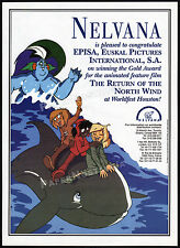 NELVANA / The Return of the North Wind__Original 1995 Trade AD promo / poster