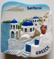 Santorini GREECE Resin 3D fridge Refrigerator Thai Magnet Hand Made Craft