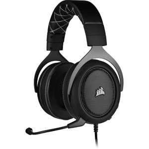 Corsair HS60 PRO SURROUND Gaming Headset Carbon Microphone 3.5mm CA-9011213-NA