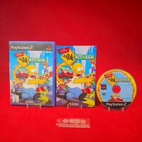 The Simpsons: Hit & Run - Sony Playstation 2 PAL Game Complete *BRCollectables*