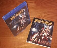 ARMY OF DARKNESS 3disc Bluray US import Shout/Scream Factory(rare OOP slipcover