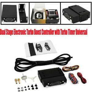Dual Stage Electronic Turbo Charger Boost Controller with Turbo Timer Practical