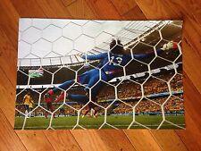 """Team Mexico Guillermo Ochoa 11.5""""x 17"""" Poster 2014 World Cup Vs Brazil"""