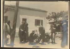 ALGERIE LAGHOUAT PHOTO PENITENTIER PRISON BAGNE JAIL DETENUS AUX FERS 1904