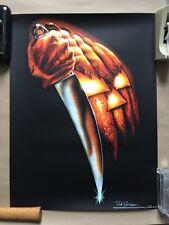 Halloween (Bob Gleason) SOLD-OUT Ltd Ed Signed Print #175/200! Bottleneck Mondo