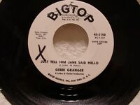 GERRI GRANGER Just Tell Him Jane Said.../What's Wrong... EX PROMO Northern Soul