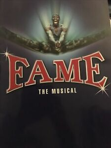 Fame The Musical Programme - Cast - Aldwych Theatre.
