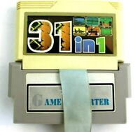 Nintendo NES 31 in 1 Famicom Cartridge w/ Game Converter - Tested