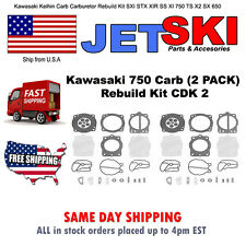 Kawasaki Keihin Carb Carburetor Rebuild Kit SXI STX XIR SS XI 750 TS X2 SX 650