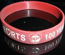 HEARTS FC McCRAES 100 YEARS 1914-1915 LEST WE FORGET WRISTBAND