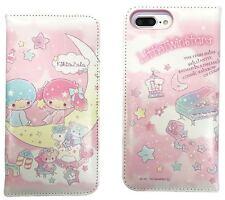 "iPhone 7 Plus (5.5"") Sanrio Japan Book Case - Kiki & Lala"
