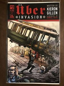 Uber Invasion #2 - NM or better - Action Comics #1 Homage Cover