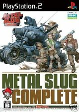 Used PS2 Snk Metal Slug Complete  SONY PLAYSTATION JAPAN   IMPORT