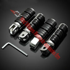 New For Honda VLX400/600 Steed 400 600 Motorcycle Front&Rear Footrests Foot pegs