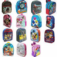 Backpack Junior Kids Boys Girls Paw Patrol PJ Masks Avengers LOL Mickey Minnie