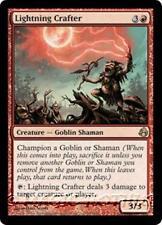 LIGHTNING CRAFTER Morningtide MTG Red Creature — Goblin Shaman RARE