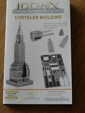 Chrysler Building Iconx 3D Laser Cut Metal Model Kit Fascinations Icx014