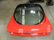 93-02 Firebird Trans Am WS6 High Rise Rear Spoiler & Hatch Glass Used OEM GM