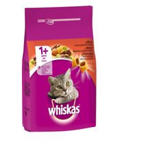 Whiskas  Adult Cats Beef Dry  Pet Cat Food 1+ Age 350g