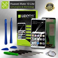 LCD Display für Original Huawei Mate 10 Lite Komplettes Touchscreen Weiß - White