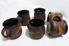 Lot de 6 ceramic cup-thé tasse à café fait main artisan design-barcelone