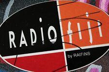 RADIO FIJI By The RAISINS Pacific Island Indy Punk Rock M1 MISC MUSIC STICKER